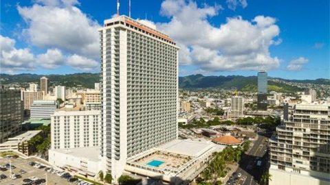 Ala Moana Hotel Condo 1313号室